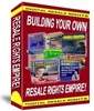 Thumbnail Building Your Own Resale Rights Empire plr