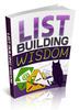 Thumbnail List Building Wisdom plr