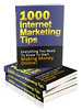 Thumbnail 1000 Internet Marketing Tips plr