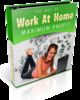 Thumbnail Work At Home For Maximum Profit plr