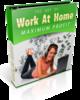 Thumbnail Work At Home For Maximum Profit plr