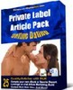 Thumbnail Private Label Article Pack : Online Dating Articles PLR
