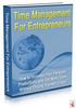 Thumbnail Time Management For Entrepreneurs mrr