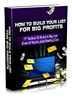Thumbnail How To Build Your List For Big Profits mrr