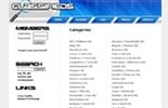 Thumbnail Classifieds Turnkey Website Blue 2