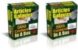 Thumbnail Articles Galaxies : 1005 PLR Articles Pack