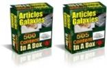 Thumbnail Articles Galaxies : 1005 PLR Articles Pack