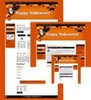 Thumbnail Halloween Site Template 2 mrr