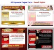 Thumbnail 45 Squeeze Pages Pack pu