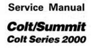 Thumbnail 1989 Mitsubishi Colt Summit Mirage Turbo