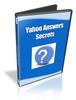 Thumbnail Yahoo Answer Secrets - eBook and Video Seriess