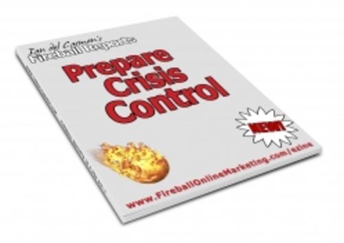 Pay for Prepare Crisis Control plr