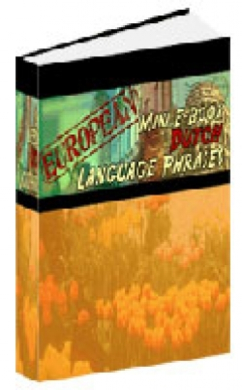 Pay for European Mini E-Book Dutch Language Phrases plr