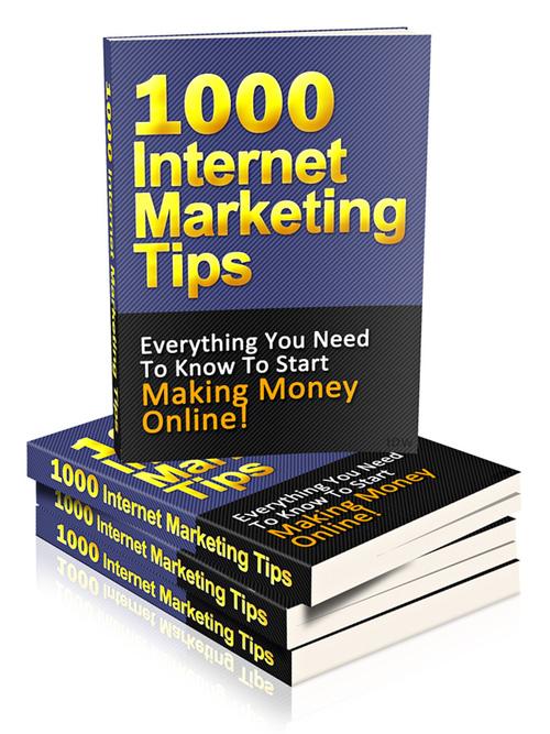 Pay for 1000 Internet Marketing Tips plr