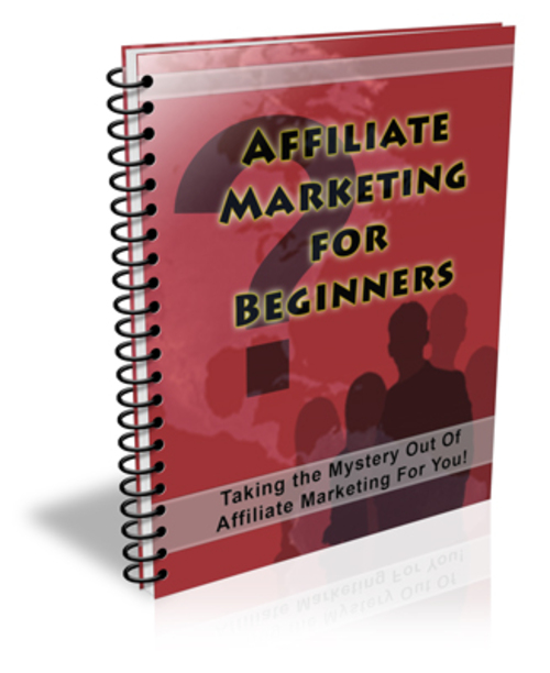 Pay for Affiliate Marketing for Beginners plr