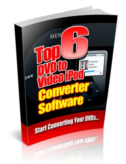 Pay for Top 6 DVD To Video iPod Converter Software plr