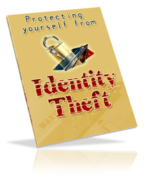 Pay for Protecting Yourself From Identity Theft PLR