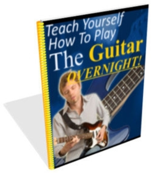 teach yourself how to play the guitar overnight plr download ebooks. Black Bedroom Furniture Sets. Home Design Ideas