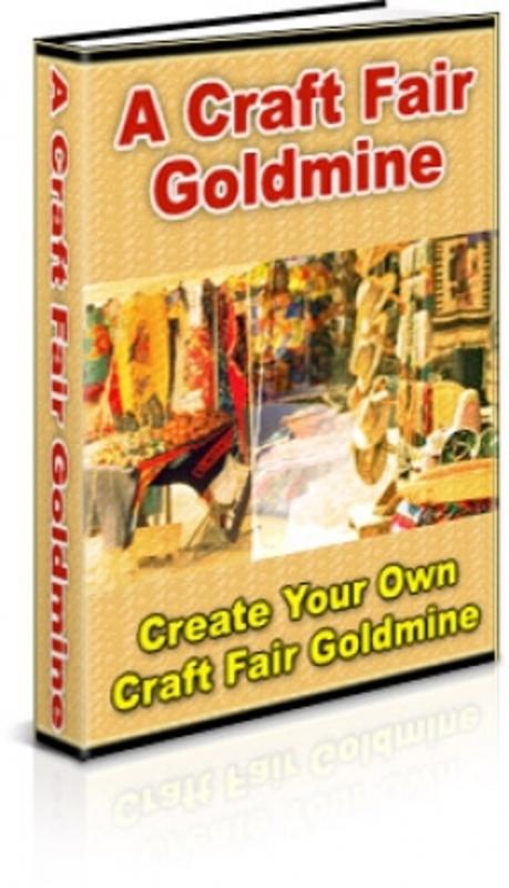 Pay for A Craft Fair Goldmine PLR