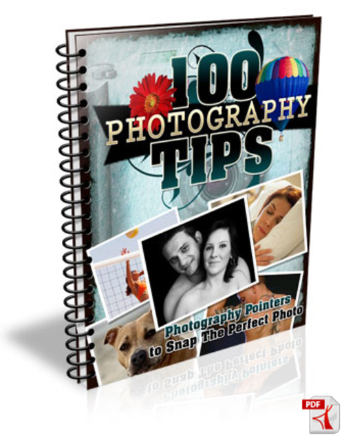 Pay for 100 Photography Tips mrr