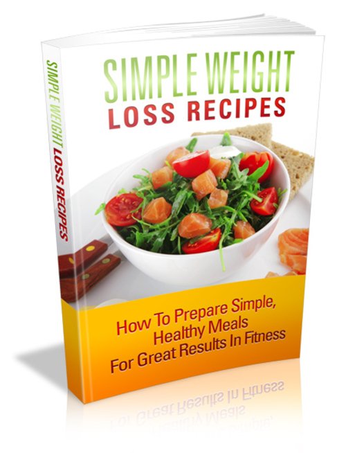 Pay for Simple Weight Loss Recipes mrr