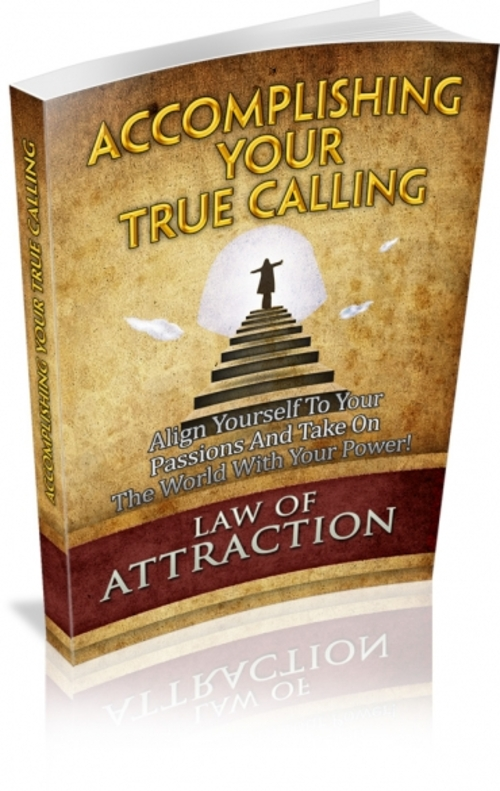 Pay for Accomplishing Your True Calling mrr