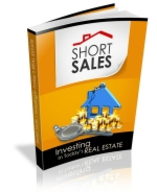 Short Sales Investing In Todays Real Estate Mrr