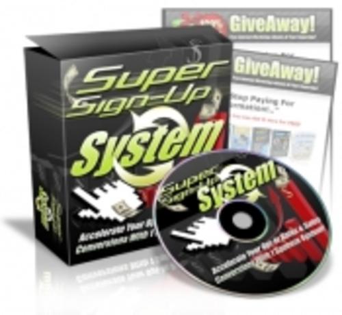 Pay for Super Sign-Up System   mrr