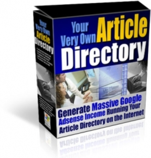 Pay for Your Very Own Article Directory rr