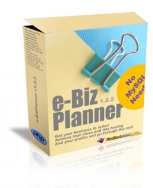Pay for e-Biz Planner LITE   gr