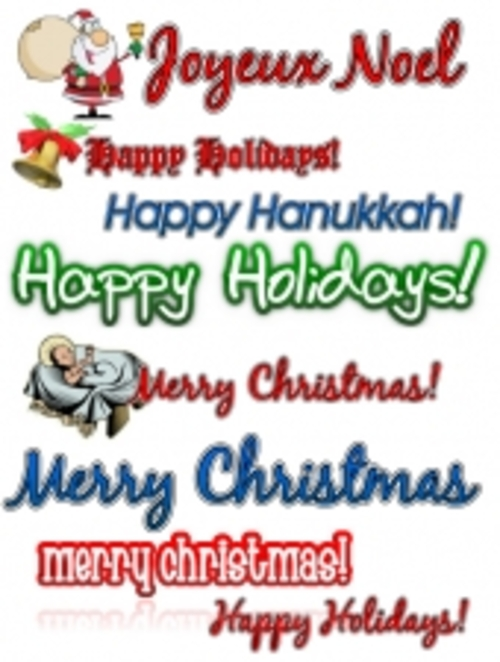 Pay for Holiday Clipart Collection mrr