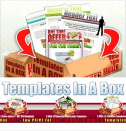 Pay for Templates In A Box plr