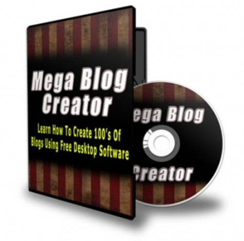 Pay for Mega Blog Creator pu