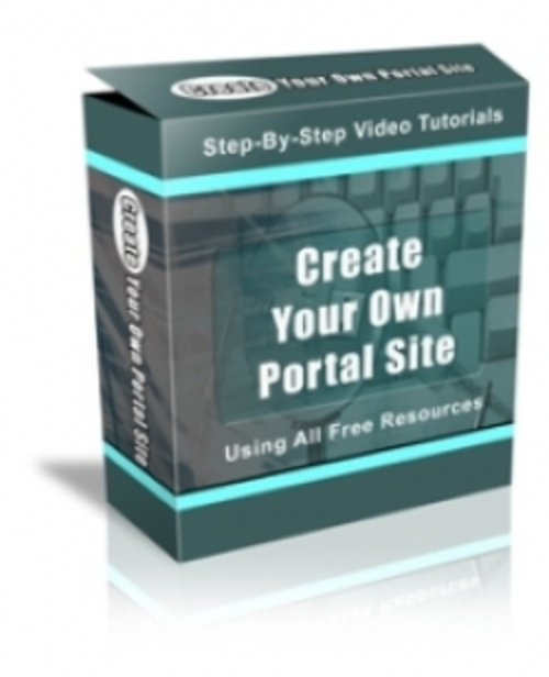 Create Your Own Portal Site Using All Free Resources Pu