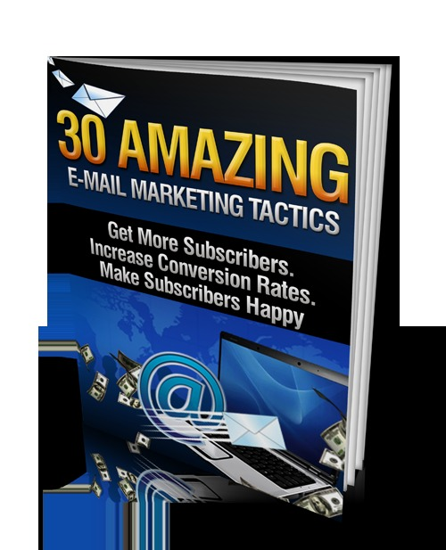 Pay for 30 Amazing Email Marketing Tactics - Viral Report