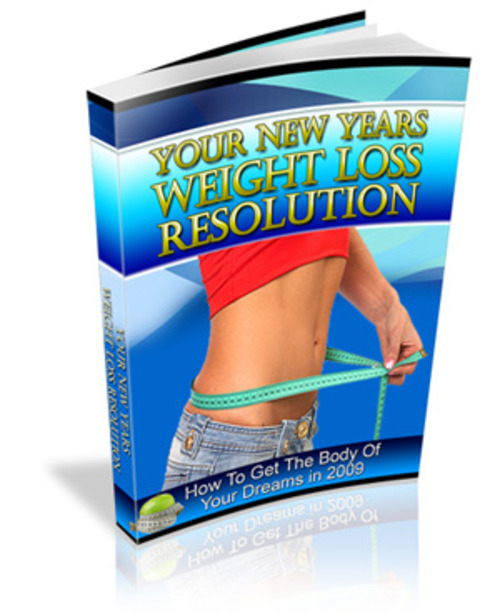 Pay for Your New Years Weight Loss Resolution (PLR)