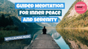 Thumbnail 15 Minute Guided Meditation For Inner Peace And Serenity