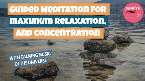 Pay for Guided meditation for maximum relaxation and concentration
