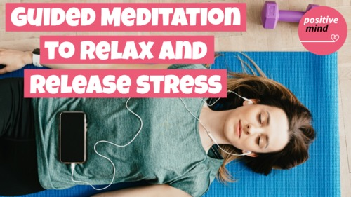 Pay for Guided meditation to help you relax and release stress