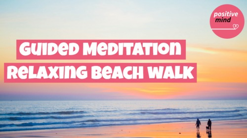 Pay for Guided Relaxing Beach Walk Meditation for Reducing Stress