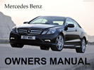 Thumbnail MERCEDES BENZ 1984 1985 1986 1987 1988 1989 1990 1991 1992 1993 1994 1995 1996 E-CLASS, CE-CLASS, 4MATIC OWNERS OWNER'S USER MANUAL (PDF)