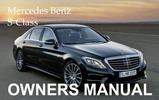 Thumbnail MERCEDES BENZ 2000 S-CLASS S430 S500 S600 S55 AMG OWNERS OWNER'S USER OPERATOR MANUAL