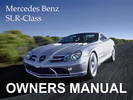 Thumbnail MERCEDES BENZ 2006 SLR-CLASS SLR MCLAREN UNLIMITED OWNERS OWNER'S USER OPERATOR MANUAL