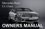 Thumbnail MERCEDES BENZ 2007 CL-CLASS CL550 CL600 OWNERS OWNER'S USER OPERATOR MANUAL (PDF)