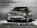 Thumbnail MERCEDES BENZ 2008 C-CLASS C230 C300 C350 4MATIC SPORT OWNERS OWNER'S USER OPERATOR MANUAL (PDF)