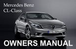Thumbnail MERCEDES BENZ 2009 CL-CLASS CL550 4MATIC CL600 CL63 CL65 AMG OWNERS OWNER'S USER OPERATOR MANUAL