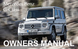 Thumbnail MERCEDES BENZ 2009 G-CLASS G550 G55 AMG OWNERS OWNER'S USER OPERATOR MANUAL