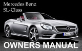 Thumbnail MERCEDES BENZ 2009 SL-CLASS SL550 SL600 SL63 SL65 AMG OWNERS OWNER'S USER OPERATOR MANUAL