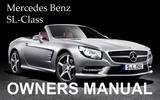 Thumbnail MERCEDES BENZ 2009 SL-CLASS SL550 SL600 SL63 SL65 AMG OWNERS OWNER'S USER OPERATOR MANUAL