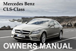 Thumbnail MERCEDES BENZ 2010 CLS-CLASS CLS550 CLS63 AMG OWNERS OWNER'S USER OPERATOR MANUAL